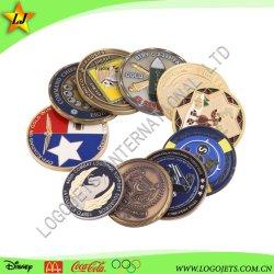 Moneta d'argento antica commemorativa di sfida dei militari del ricordo della polizia del mestiere 3D del metallo personalizzata fabbrica della Cina