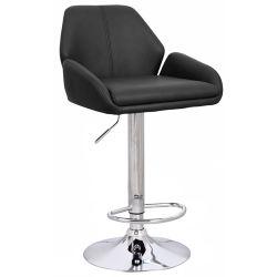 2013 новый дизайн Chrome PU Barstool - Регулируемый поворотный кухня отеля бар табурет стул (CL-3335-2)