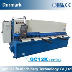QC12K automatische Guillotine-Metallplattenschere der CNC-Stahlblech-hydraulische scherende Scherausschnitt-Maschinen-QC11K