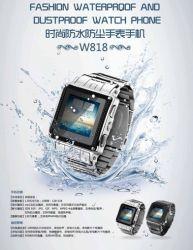 2014 أحدث هاتف محمول لمراقبة الأزياء مقاومة للماء (MS010H-W818)