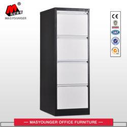 Casellario d'acciaio di verticale di memoria del cassetto delle forniture di ufficio del metallo 4