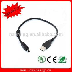 Cable de datos USB 2.0 cable mini USB para MP3 / MP4