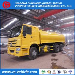HOWO 6X4 20000L 20m3の水まきのトラック20tons水噴霧のトラック