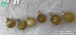 MGO de Globale Tegenhanger van de Parel van de Halfedelsteen Facotry direct Wholesae van Juwelen Deskundige Europese Echte Natuurlijke Amber in Voorraad zonder Gekleurd