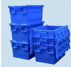 Cestas de logística de almacenamiento de verduras de plástico de la pantalla de frutas Caja de volumen de negocios