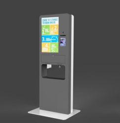 Pantalla táctil Terminal de autoservicio con lector de códigos de barras y Tarjeta de Crédito
