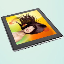 9.7 Polegada Fashion Barato preço Novo Design Tablet PC com 1.5GHz Android Market 4.1 OEM