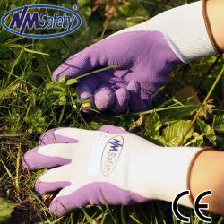 Super Nmsafety мягкой пены с покрытием из латекса женщин и детей садоводство перчатки