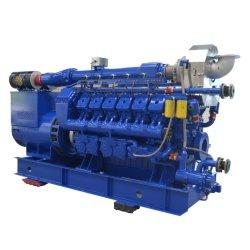 Liyu 1500kw Alta Eficiência térmica e elétrica 400V Gerador de gás natural para as emissões/mina de carvão/Hotel/Aeroporto