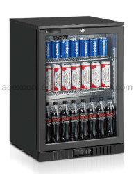 La barre arrière de la bière de réfrigération commerciale Chiller avec porte en verre pour les boissons Affichage chiller