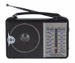 FM/AM/Sw1-2 4 bandes radio portable