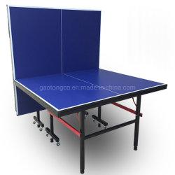 Mesa de Ténis de mesa dobrável para o desporto escolar e Compertiton Amador