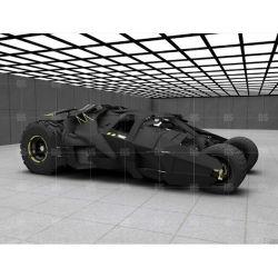 La escultura de fibra de vidrio modelo de coche de tamaño de la vida para mostrar exposición