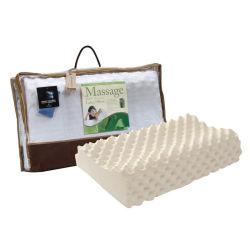 Contour Durian Latex Foam Rubber Massage Neck 베개