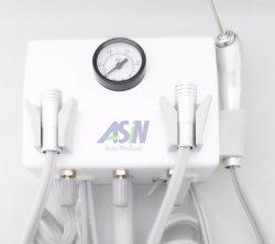 Type de mur pendaison Dental Lab Unité Turbine portable avec une seringue Hesperus