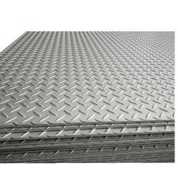 Warm gewalzte Gleitschutzkohlenstoff-Fluss-Stahl-Checkered Chequered Platte des Baumaterial-Q235B Ss400 A36 S235jr St37
