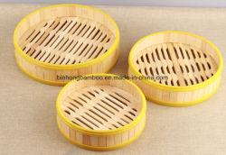 Silikon-Kreis-Bambusdampfer für Dim Sum-Nahrung