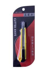 Faca de Corte de 9 mm de lâmina móvel Multifuncional da Faca do Cortador Utilitário para a escola do escritório usando