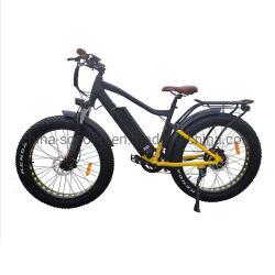 """500W 26 """" *4.0 stanca la bici grassa elettrica fuori strada con la batteria di 48V 12ah Samsung"""