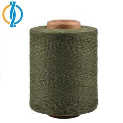 有機性バージンはNe 30/1の綿によってとかされた編むヤーン無駄をリサイクルした