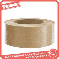 Печать логотипа усиленные крафт-бумаги Gummed ленту для уплотнения коробки