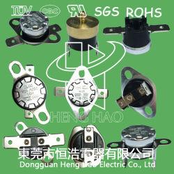 Interruttore del sensore di temperatura Ksd301, Ksd301