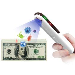 Bacchetta portatile ricaricabile dello sterilizzatore della luce ultravioletta di disinfezione della lampada UV UV germicida tenuta in mano della lampada per la famiglia, uso dell'ufficio