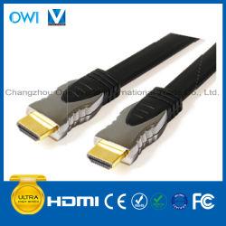 Câble de fiche de l'Assemblée HDMI 19pin Plugto en métal