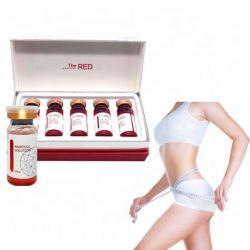 La solution de l'ampoule rouge dissoudre la graisse corporelle minceur Solution lipolytique de dissolution de graisse