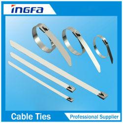 304 En acier inoxydable 316 attaches de câble de verrouillage à bille pour usage intensif