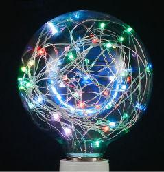 LEIDENE van de Lamp van het Koord van Dimmable het Licht van het Openlucht Mini Sterrige Koord van de Bol