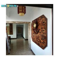 Festes Holz-Wand-Papier-Hotel-Vorhalle-Dekoration für die Wand dekorativ