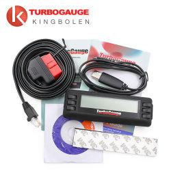 Livraison gratuite Turbogauge IV 4-en-1 Calculateur du véhicule/OBDII EOBD Voiture Calculateur de voyage / Les jauges numériques/ scan/ Outil de numérisation de voiture de jauge