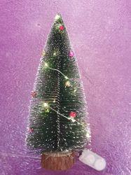 Mini het Bijeenkomen van de Pijnboom van de Sneeuw van de Kerstboom Witte Decoratie 330cm van Kerstmis van de Decoratie van het Venster van de Desktop Kleine