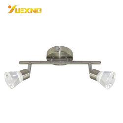 공장 가격 실내 사용자 지정 컬러 크롬 OEM 유리 이튼 천장 스팟 조명 LED 10W 15W 크리스탈 스포트라이트 램프