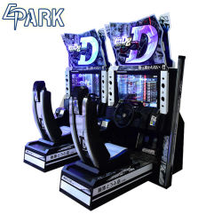 AnfangsSäulengang-laufendes Spiel-Simulator-Auto-Laufen der Konsolen-D8
