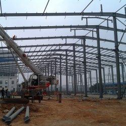 Structure en acier préfabriqué utilisé comme entrepôt / Atelier