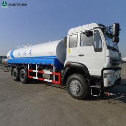 Venta caliente 25000 litros HOWO 10 ruedas de camiones tanque de agua