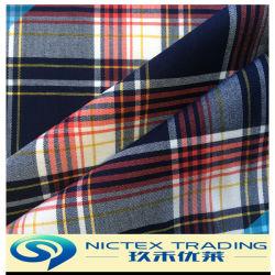 Tartan T/R Vérifier tissu stretch, tr