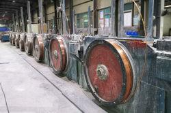 Carrete de plástico de CCS de alambre de acero recubierto de cobre