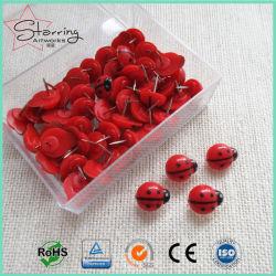 Commerce de gros 15mm en plastique tête Ladybird Punaises pour la reliure