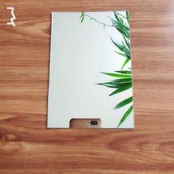 둥근 볼록한 은 유리는 가정 훈장을%s 경사진 미러 벽 미러에 미러를 잇는다