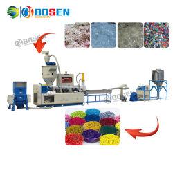 Automatischer Plastikfilm-Flasche pp. HDPE-LDPE-PET Haustier-Plastikgranulierer