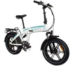 Grasa de 20 pulgadas llanta MTB bicicleta eléctrica plegable Bicicleta de Montaña off road con la certificación E