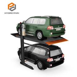 유압식 수직 주차 종속성 간단한 2포스트 차량 플랫폼 스태커