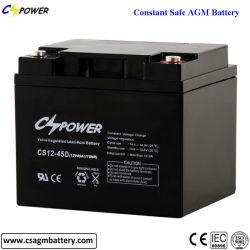 密封された再充電可能な鉛酸蓄電池12V 45ah AGM電池