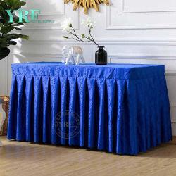 """"""" blaue Tischdecke-Fußleiste des Vierecks-72"""