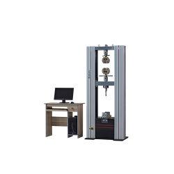 マイクロコンピューターの制御された電子ユニバーサル試験機のガントリーユニバーサル試験機の引張強さのテスター