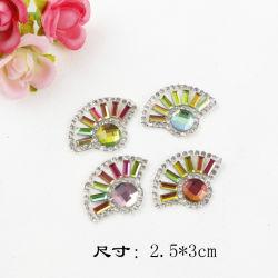 Мода красочные мотивы стекло камень Rhinestone использованием стекла Crystal Hotfix алмазов патч