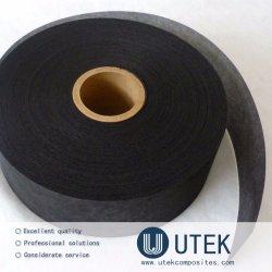 Cinta de tejido de fibra de carbono conductoras para el conjunto de tubos de ánodo